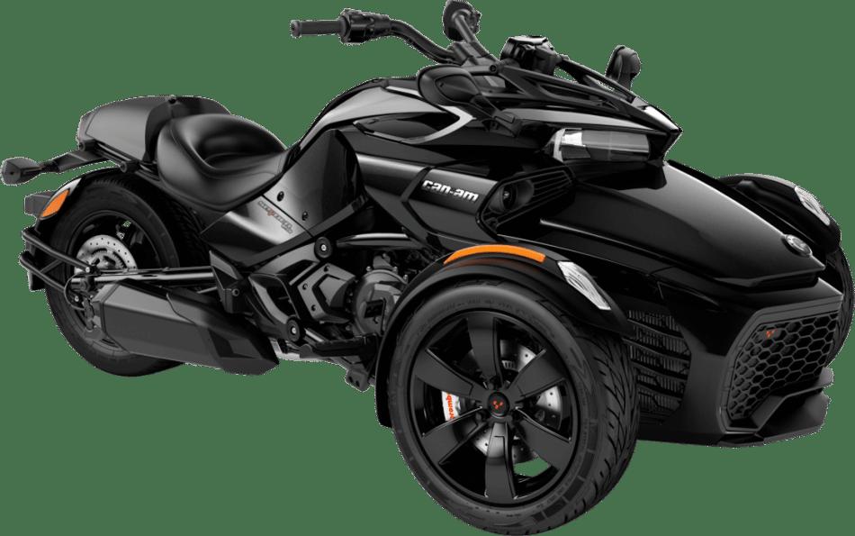 Vehículo Spyder F3 negro