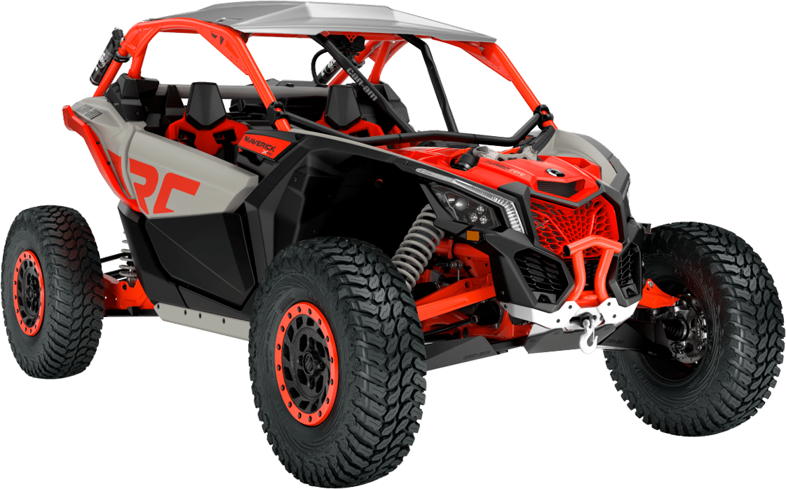 Vehículo Can-Am Maverick X rc turbo