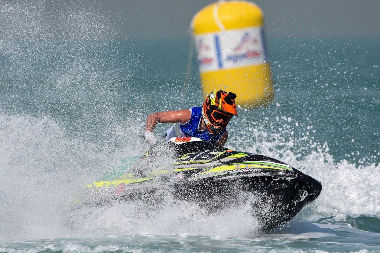 Nacho Armillas piloto de Pacutos compitiendo en el Campeonato del Mundo